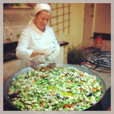 Tapas week paella
