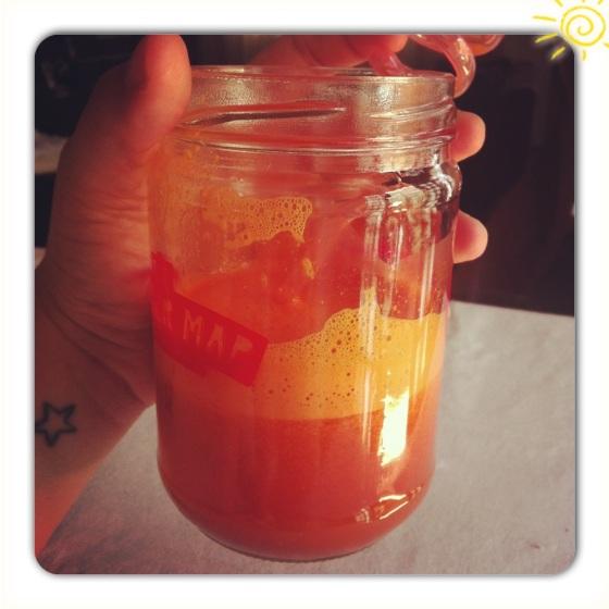 laranja com goji berry