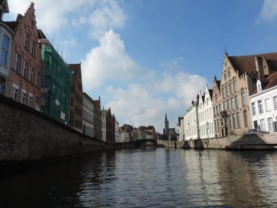 tour de barco Bruges
