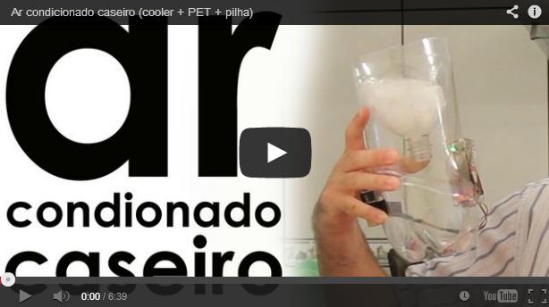 Como Fazer Um Ar Condicionado Caseiro Com Garrafa Pet Entre