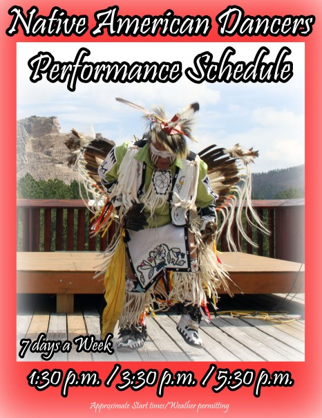 danca nativos crazy horse south dakota