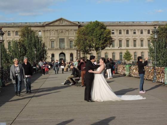casamento pont des arts