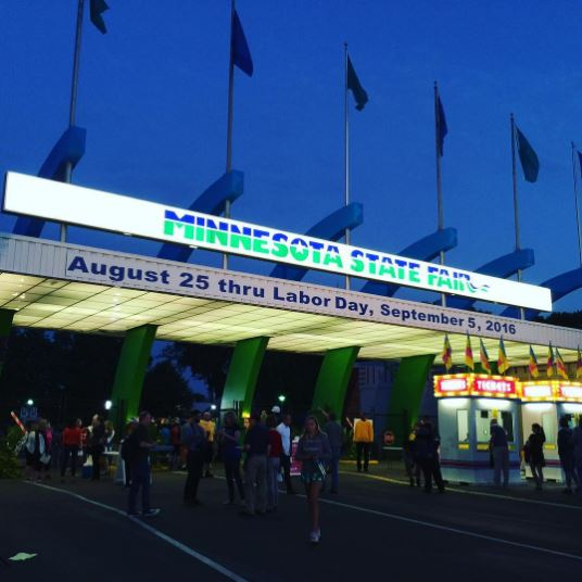 Minnesota State Fair opening day